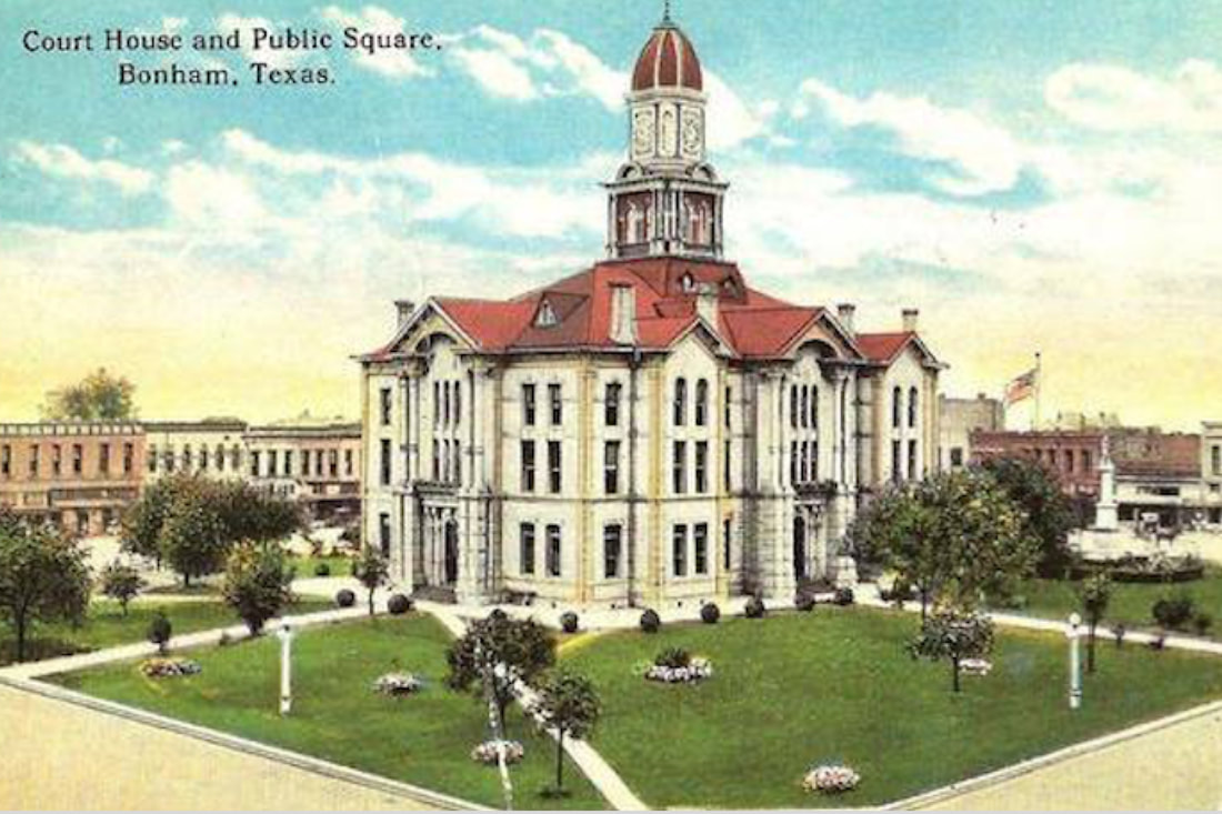 Photo of Fannin County Courthouse and Public Square